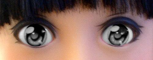 Anime Grey Eyes
