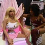 Misty Stone Checking out Her Doll
